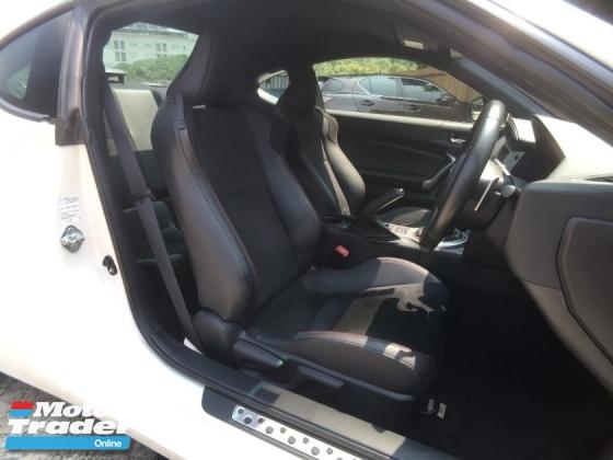 2014 SUBARU BRZ 2014 Subaru BRZ S Spec 2.0  (unreg) + Warty