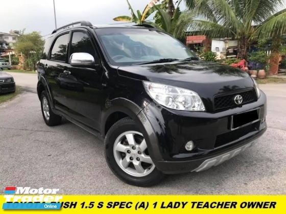2011 TOYOTA RUSH 1.5S (AT) NEW FACELIFT ONE LADY OWNER LIKE NEW  LEATHER SEAT PREMIUM SPEC