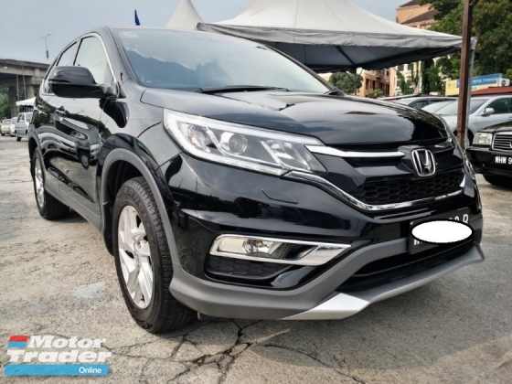 2016 HONDA CR-V CR-V 2.0 (A) Super lowmileage with leather seats