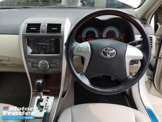 2011 TOYOTA COROLLA ALTIS 1.8 ALTIS DualVVti RavanseCam Facelift
