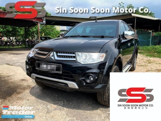 2014 MITSUBISHI TRITON 2.5 VGT GS PREMIUM FULL Spec(AUTO)2014 Only 1 UNCLE Owner, 72K Mileage, TIPTOP, ACCIDENT-Free, with AIRBEGs, BODYKIT, DUAL GEAR