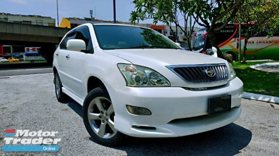 2007 TOYOTA HARRIER 240G PREMIUM L PACKAGE HIGHEST SPEC 1OWNER S/ROOF