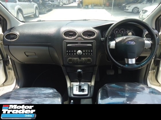 2008 FORD FOCUS 2009 Ford Focus H/B 2.0(A) Sport Edition 1 Owner