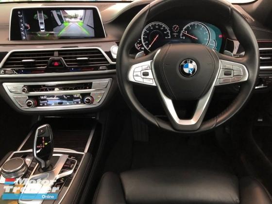 2017 BMW 7 SERIES 740Li MSport (3.0L Twin Turbo - AIR-MATIC - DIGITAL METER - REVERSE CAMERA - POWER BOOT