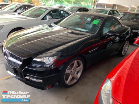 2015 MERCEDES-BENZ SLK 200 Amg 1.8 panoramic roof unregistered