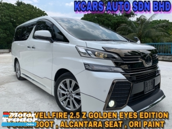 2017 TOYOTA VELLFIRE 2.5Z Golden Eyes MODELLISTA SUNROOF POWER BOOT