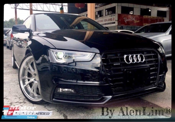 2015 AUDI A5 S LINE QUATTRO 2.0 TURBO (UNREG) 5 STAR CONDITION