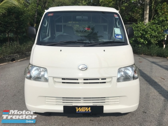 2013 DAIHATSU GRAN MAX 1.5 PANEL VAN LOW FULL SEVICE RECORD LIKE NEW MILAGE 55K ONLY