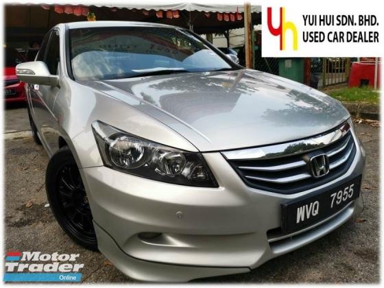2011 HONDA ACCORD Honda ACCORD 2.0 VTi-L NEW FACELIFT (A) FULL LEATHER ELECTRIC SEAT