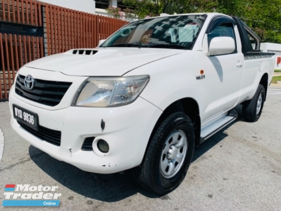 2013 TOYOTA HILUX SINGLE CAB 2.5 VNT ENGINE