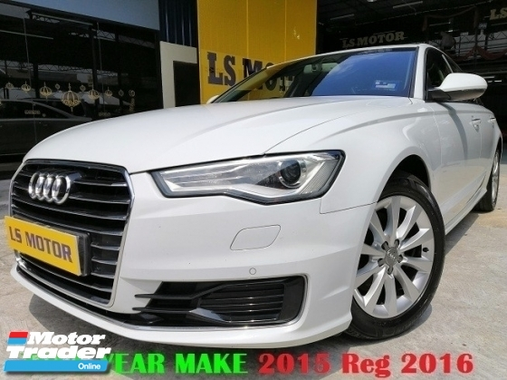 2015 AUDI A6 1.8 TFSI FACELIFT MODEL -BRAND NEW AUDI MAL - FULL SERVICE RECORD AUDI - ORIGINAL MILEAGE - NAPPA LEATHER - MEMORY SEAT - PUSH START - PADDLE SHIFT - NEW CAR CONDITION - VIEW TO BELIEVE -
