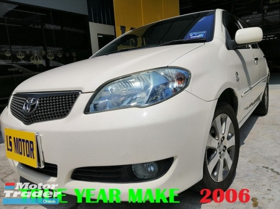 2006 TOYOTA VIOS 1.5G (AT) FACELIFT AUTO - PEARL WHITE 2K - ORI G SPEC MODEL - LADY OWNER - ACC FREE - FULL SERVICE RECORD - WELL MAINTAIN - NO NEED REPAIR - VIEW TO BELIEVE - LOAN AVAILABLE -