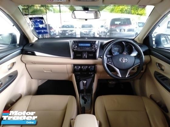 2015 TOYOTA VIOS 1.5G VVT-i Auto New Facelift TRD Sportivo