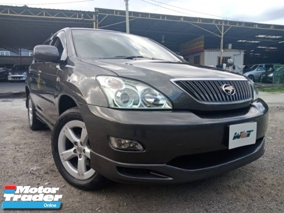 2005 TOYOTA HARRIER REG 10 3.0 (A) 4WD AIRS GOOD CONDITION STOCK CLEARANCE PROMOTION PRICE.