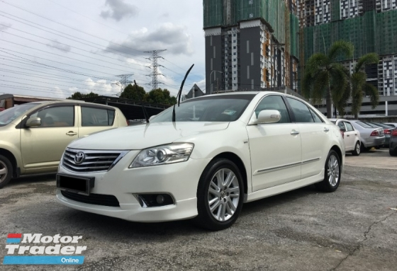 2011 TOYOTA CAMRY 2.4 VTi-L (A) CCRIS AKPK CAN LOAN ** BLACKLIST SAA CAN LOAN **  SPECIAL PROMOTION **