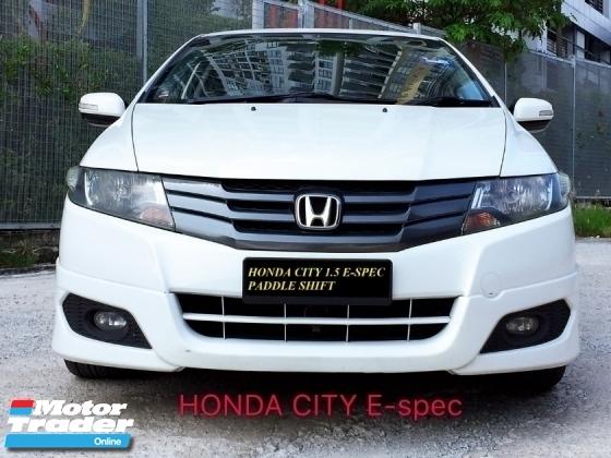 2011 HONDA CITY 1.5 E SPEC PADDLE SHIFT WITH FULL MODULO BODY KIT TAHUN DIBUAT 2011
