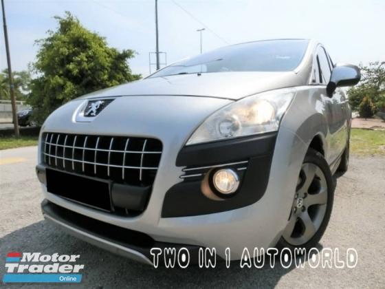 2011 PEUGEOT 3008 1.6 TURBO /1 OWNER / SERVICE PEUGEOT CENTRE / WEEKEND CAR