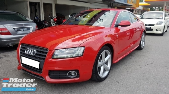 2011 AUDI A5 2.0 TFSI S LINE (A) REG 2012, ONE CAREFUL OWNER, UK SPEC, FREE 1 YEAR GMR CAR WARRANTY, S-LINE 18\