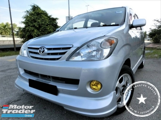 2004 TOYOTA AVANZA 1.3E / WEEKEND CAR / WELL KEPT CONDITION / CASH NEGO / VIEW AND BELIEVE