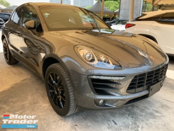 2014 PORSCHE MACAN 3.0 S back camera 2 memory seats power boot 20 rims sport mode unregistered