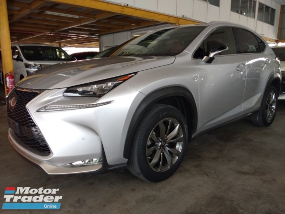 2015 TOYOTA OTHER TOYOTA LEXUS F SPORT NX200T New unregistered.👍