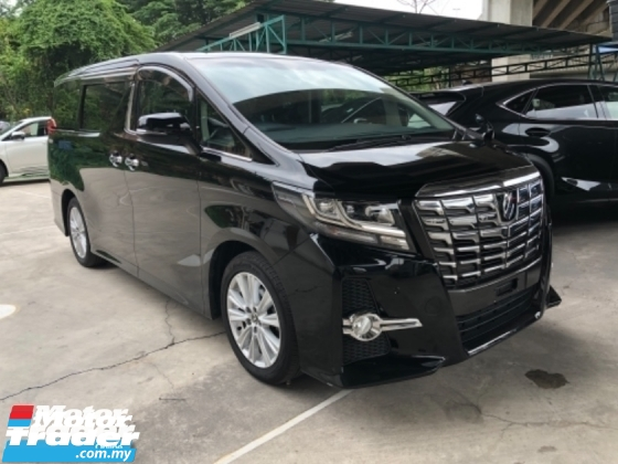 2015 TOYOTA ALPHARD Unreg Toyota Alphard SA 2.5 7seats 360view PowerBoot Push Start 7G