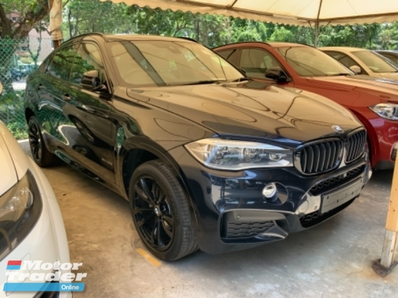 2015 BMW X6 40D 3.0 3.o M sport sunroof `head up display power boot electric seat  unregistered