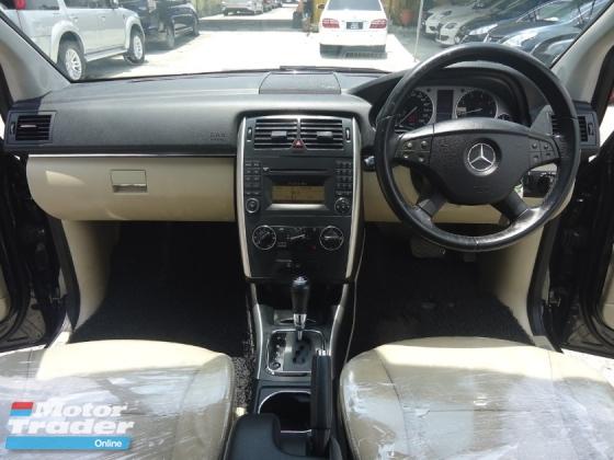2011 MERCEDES-BENZ B-CLASS Mercedes Benz B180 1.7 (A) True Year 2011