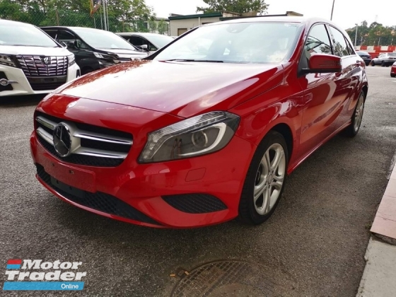 2014 MERCEDES-BENZ A-CLASS A180 SE Radar Safety JP Unreg Sale Offer