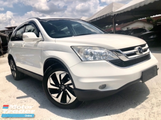 2011 HONDA CR-V 2.0 (A) 1 MALAY LADY OWNER CAR SERVICE ON TIME