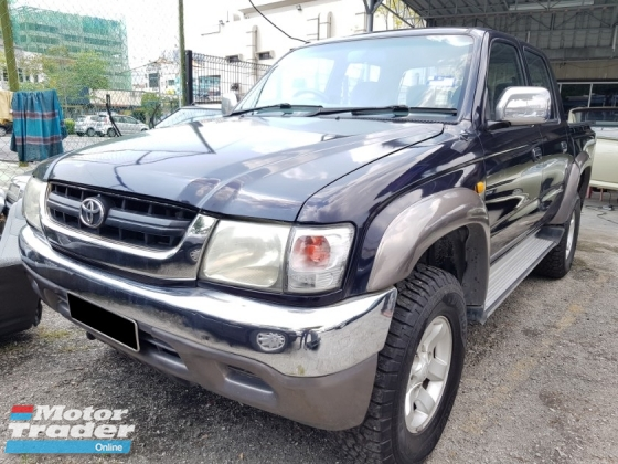 2004 TOYOTA HILUX 2.5(A) SR TURBO TIPTOP NO OFF ROAD CAREFUL OWNER