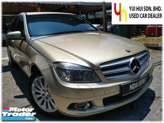 2010 MERCEDES-BENZ C-CLASS 2010 Mercedes Benz C200 CGI BlueEFCY ELEGANCE 1.8 (A) NICE NUMBER 9999 1 OWNER