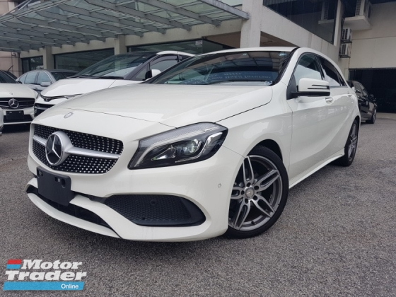 2016 MERCEDES-BENZ A-CLASS 2016 Mercedes A180 AMG Facelift Keyless Radar Blind Spot LKA Unregister for sale