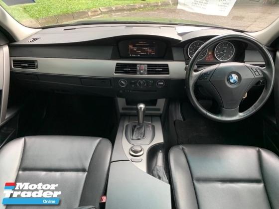 2007 BMW 5 SERIES 523I 2.5 (A) FACELIFT SE 1 OWNER RAYA SALE