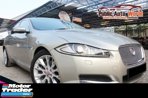 2014 JAGUAR XF Jaguar XF 2.0 8 SPEED LUXURY FACELIFT CBU GPS 2015
