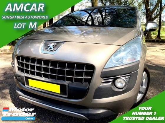 2011 PEUGEOT 3008 1.6 THP (A) PANORAMIC [SELL BELOW MARKET]