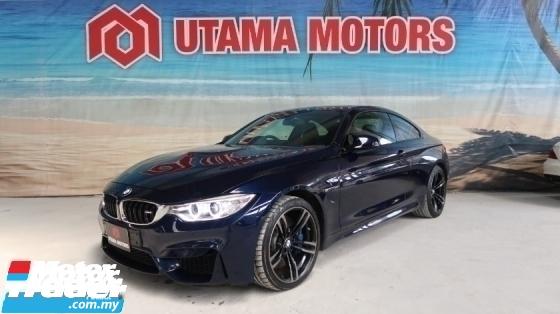 2015 BMW M4 3.0 TWIN POWER TURBO SUNROOF CARBON FIBER INTERIOR TRIM HARGA RUNTUH MAX LOAN FAST APPROVAL