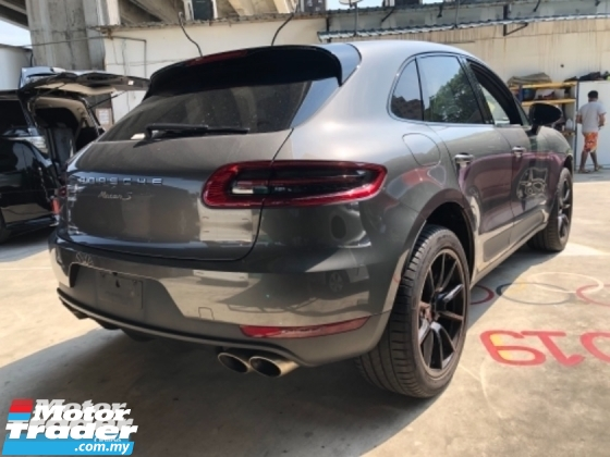 2015 PORSCHE MACAN Unreg Porsche Macan S 3.0 V6 Turbo Camera PowerBoot
