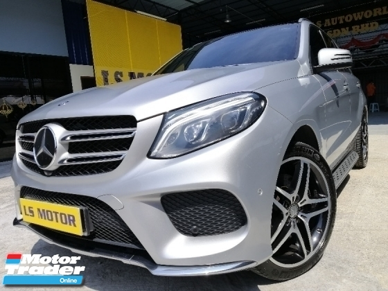 2015 MERCEDES-BENZ GLE 400 3.0 auto w166 -AMG LINE  4MATIC FACELIFT MODEL- CKD BRAND NEW C&C - FULL SERVICE RECORD- UNDER WARRANTY TILL 2021 - 4NEW TYRE -LIKE NEW -VIEW TO BELIEVE -