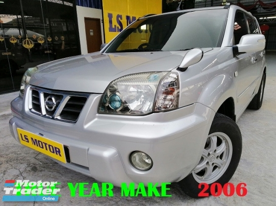 2006 NISSAN X-TRAIL 2.0L AUT0 4X4 - 1LADY OWNER - ACC FREE - WELL MAINTAIN - CLEAN INTERIOR - NO OFF ROAD USE BEFORE - FULL SERVICE RECORD - LOAN AVAILABLE -