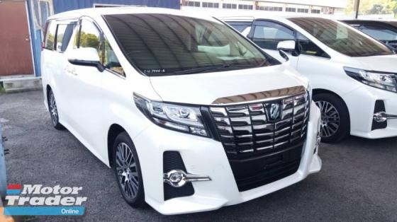 2017 TOYOTA ALPHARD Unregistered (2017/White) Toyota Alphard 2.5 SC (Sunroof & Pre-Crash Spec)