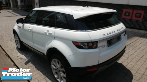 2013 LAND ROVER EVOQUE DYNAMIC (A) 2.0