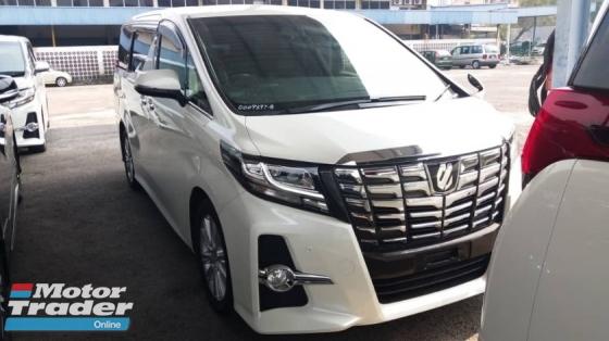 2015 TOYOTA ALPHARD Unregistered (2015/White) Toyota Alphard 2.5 SA (Basic Spec)