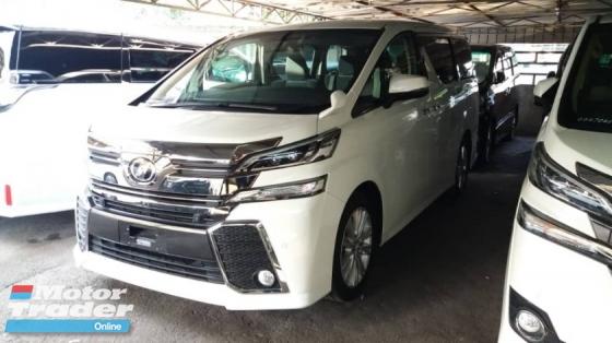 2015 TOYOTA VELLFIRE Unregistered (2015/White) Toyota Vellfire 2.5 Z Spec (WELCAB Package)