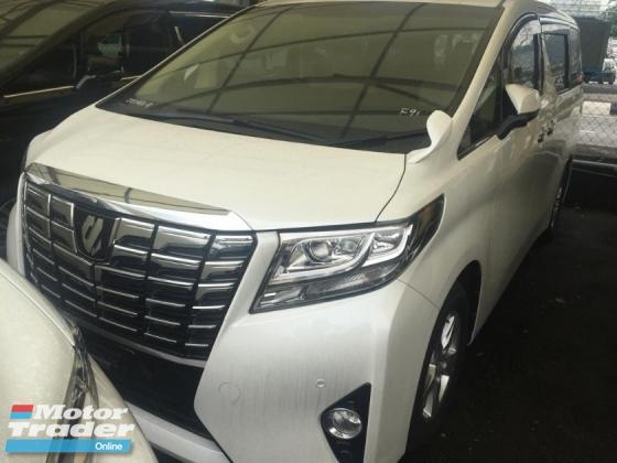 2015 TOYOTA ALPHARD Unregistered 2015 Toyota Alphard 2.5 (WELCAB)