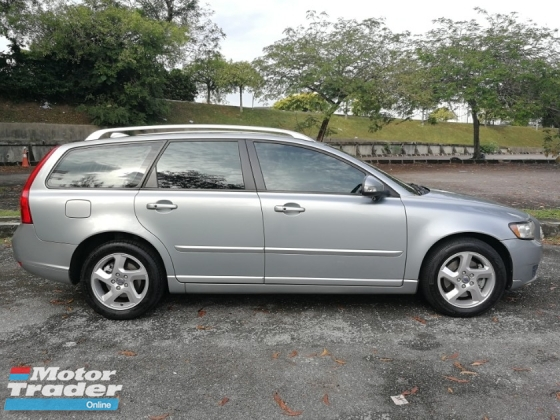 2011 VOLVO V50 2.0 (A) 6 SPEED HP145 SPORT WAGON MODEL