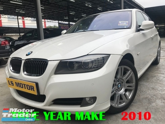 2010 BMW 3 SERIES 320I M-SPORT LCI FACELIFT MODEL - 1LADY OWNER -ACC FREE - FULL SERVICE RECORD BMW - CKD MODEL- LEATHER SEAT -MEMORY SEAT - NON SMOKING OWNER - CLEAN INTERIOR -