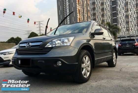 2008 HONDA CR-V 2.0 (A) CCRIS AKPK CAN LOAN ** BLACKLIST SAA CAN LOAN ** CTOS PTPTN CAN LOAN ** HIGH LOAN AVAILABLE **