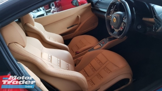 2011 FERRARI 458 ITALIA F458 ITALIA COUPE