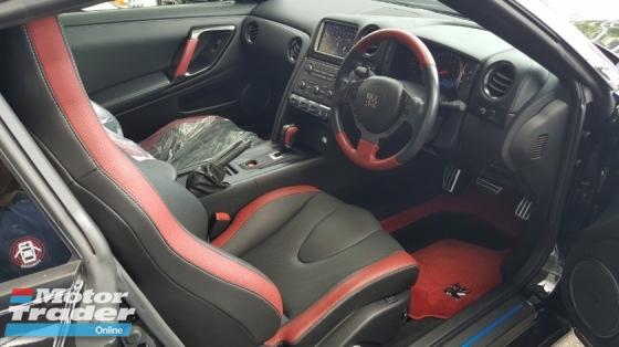 2016 NISSAN GT-R 3.8 V6 BLACK EDITION FACELIFT BOSE AUDIO RECARO SEAT (A) OFFER UNREG